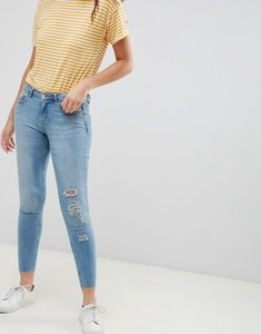 Read more about Jdy flora ripped skinny jeans - light blue denim