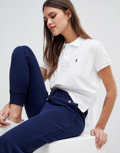 Read more about Polo ralph lauren bring it back pack cropped polo shirt - white