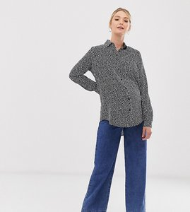 Read more about Glamorous bloom relaxed shirt in spot print