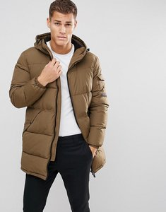 Read more about Esprit long padded coat in khaki - khaki350