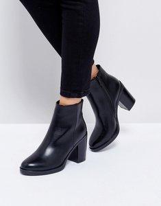 Read more about Raid lorena black heeled ankle boots - black pu