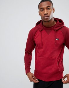 Read more about Nike optic pullover hoodie in red 930377-677