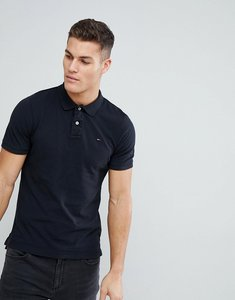 Read more about Tommy hilfiger denim polo with flag logo - black