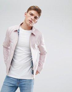 Read more about Burton menswear harrington jacket in pink - pink