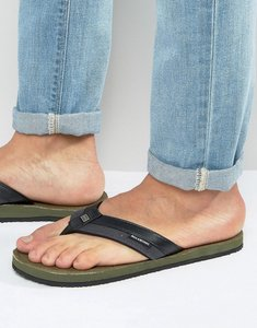 Read more about Billabong seaway canvas flip flops - green