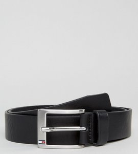 Read more about Tommy hilfiger aly leather belt in black - black