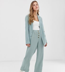 Read more about Pimkie wide leg trouser with button top in mint green