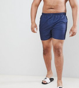 Read more about French connection plus dot swim shorts - navy