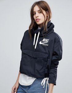 Read more about Nike archive pullover jacket in black - black black