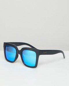 Read more about Quay australia supine square frame sunglasses - gry blue