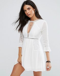 Read more about Raga love always mini dress - white