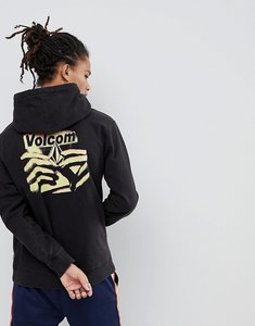 Read more about Volcom hoodie with back print - black