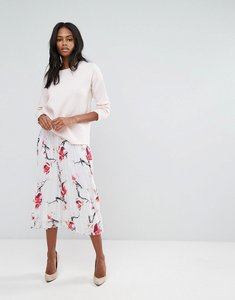 Read more about Y a s joy floral print skirt - multi