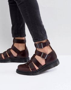 Read more about Dr martens geraldo ankle strap sandals in red - red