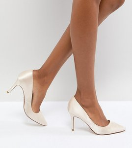 Read more about Dune london bridal exclusive aurrora court shoes - nude