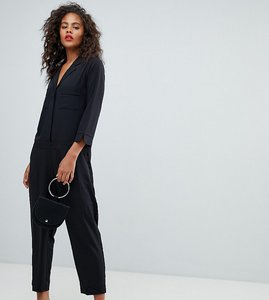 Read more about Y a s tall tailored jumpsuit - black
