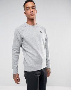 Read more about Nike sb icon crew neck sweat in grey 800153-063 - grey