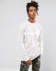 Read more about Cayler sons long sleeve t-shirt in stone camo - stone