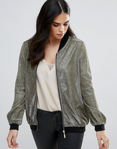 Read more about Rare metallic bomber jacket - gold