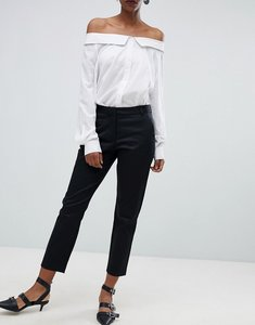 Read more about Selected audrey crop chino trousers - black