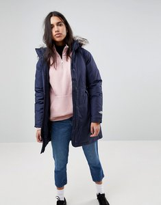 Read more about The north face arctic parka with detachable hood in navy - jbrurbannavy vin