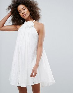 Read more about Traffic people corsage dress - white