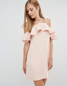 Read more about Keepsake bitter sweet dress with frill - pale pink