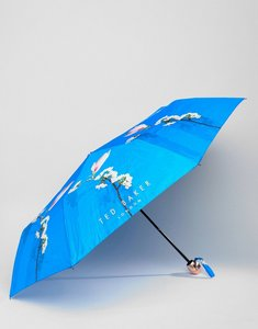 Read more about Ted baker umbrella in harmony floral print - bright blue