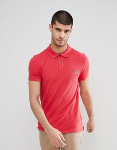 Read more about Ps paul smith slim fit zebra logo polo in red - 24