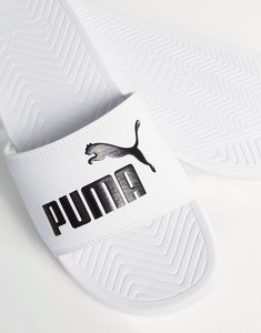 Read more about Puma popcat sliders in white 36026512 - white