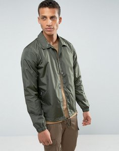 Read more about Loyalty and faith coach jacket - green