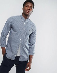 Read more about Tommy hilfiger buttondown shirt in slim fit navy gingham - navy