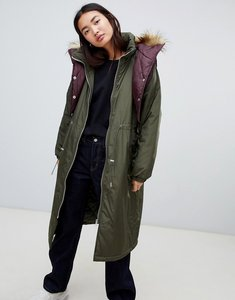 Read more about Asos hybrid parka - khaki