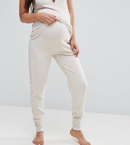 Read more about New look maternity brushed jersey pyjama jogger - oatmeal
