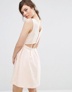 Read more about Suncoo back detail dress - nude