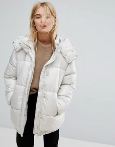 Read more about Weekday padded jacket - beige