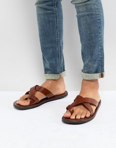 Read more about Pier one leather sandals in tan - tan