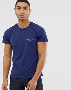 Read more about Versace jeans t-shirt with chest logo in blue