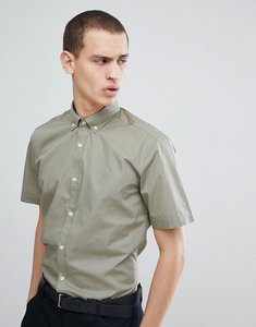 Read more about French connection poplin short sleeve shirt - lgt khaki