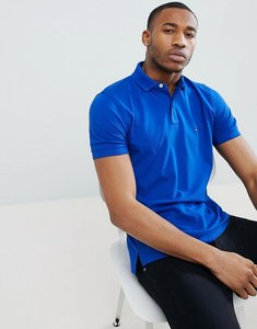 Read more about Tommy hilfiger pique logo polo shirt - blue