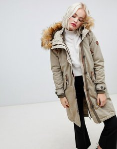 Read more about Only parka with faux fur hood