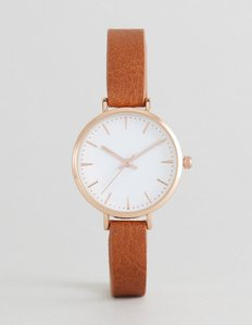 Read more about Asos curve tan watch - tan