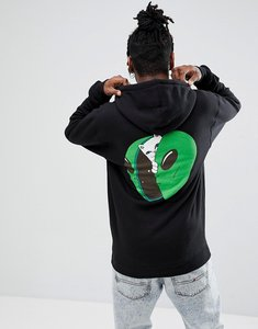 Read more about Rip n dip in my mind hoodie with back print - black