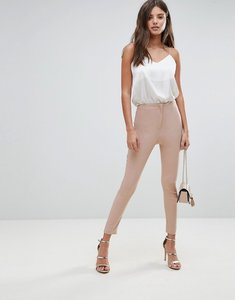 Read more about Asos design high waist trousers in skinny fit - cosmetic pink