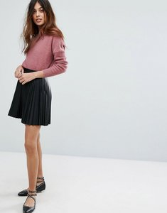 Read more about Vero moda pleated mini skirt - black
