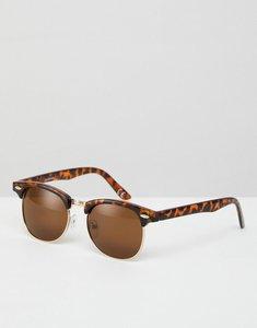 Read more about Asos polarised classic retro sunglasses - tort