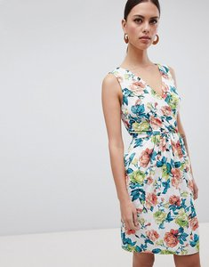 Read more about Closet london floral print mini dress - multi