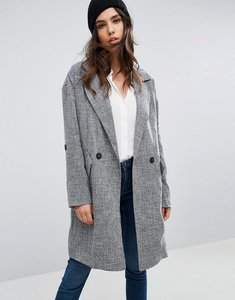 Read more about Only benta oversized lightweight jacket - dark grey marl