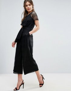 Read more about Coast ivy lace jumpsuit - black