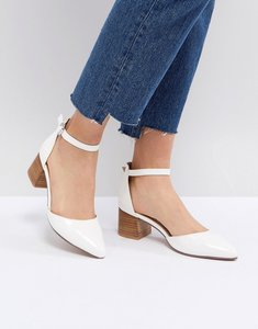 Read more about Asos taiya pointed heels - white